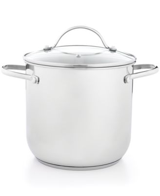 Tools of the Trade Stainless Steel 8 Qt. Covered Stockpot, Only at Macy's