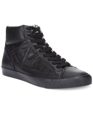 Armani Jeans Hi-Top Sneakers Mens Shoes