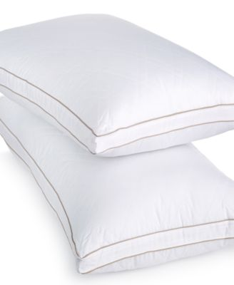 CLOSEOUT! Martha Stewart Collection Allergy Wise Gusseted Down Alternative King Pillow