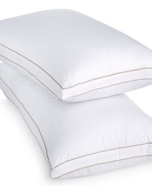 Martha Stewart Collection Allergy Wise Gusseted Down Alternative Standard/Queen Pillow Bedding