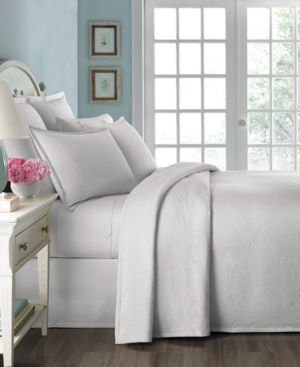 Closeout! Martha Stewart Collection Athens Medallion Twin Matelasse Bedspread Bedding