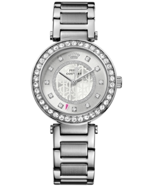 Juicy Couture Women's Luxe Couture Stainless Steel Bracelet Watch 34mm 1901150