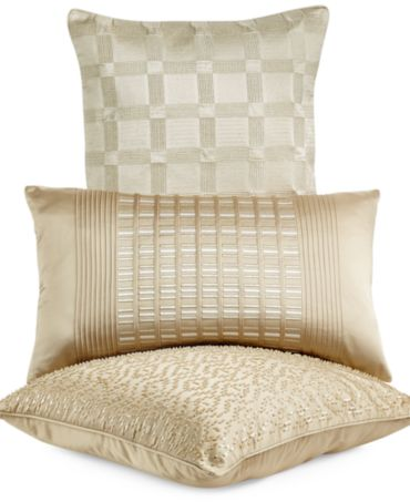 Hotel Collection Mulberry Decorative Pillows : Hotel Collection Regal Stripe 18