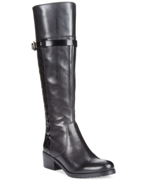 Tahari Killan Tall Riding Boots Womens Shoes