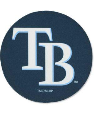 Tampa Bay Rays 4-Pack Round Neoprene Coaster Set - Navy Blue 1726444