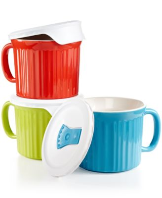 Corningware 6-Piece Pop-in Mug Set