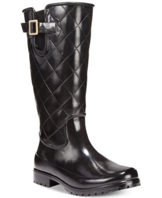Pelican Tall Quilted Rain Boots