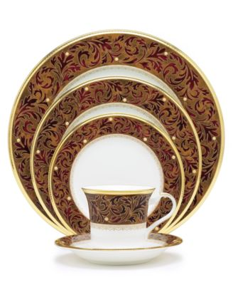 Noritake Xavier Gold Dinnerware Collection