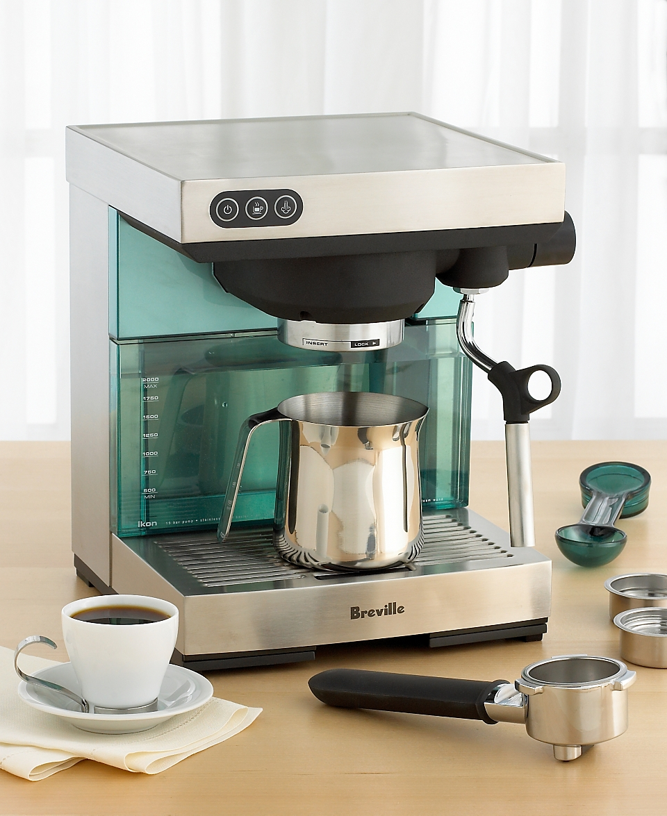 f7e4aa3678 Breville Ikon Espresso Machine on PopScreen