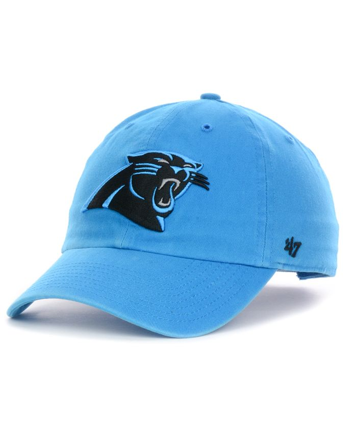 '47 Brand - Carolina Panthers Clean Up Cap