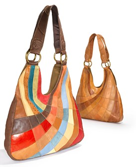 "Macy*s - Women's - Lucky Brand Jeans ""PatchWork"" Hobo Bag from macys.com"