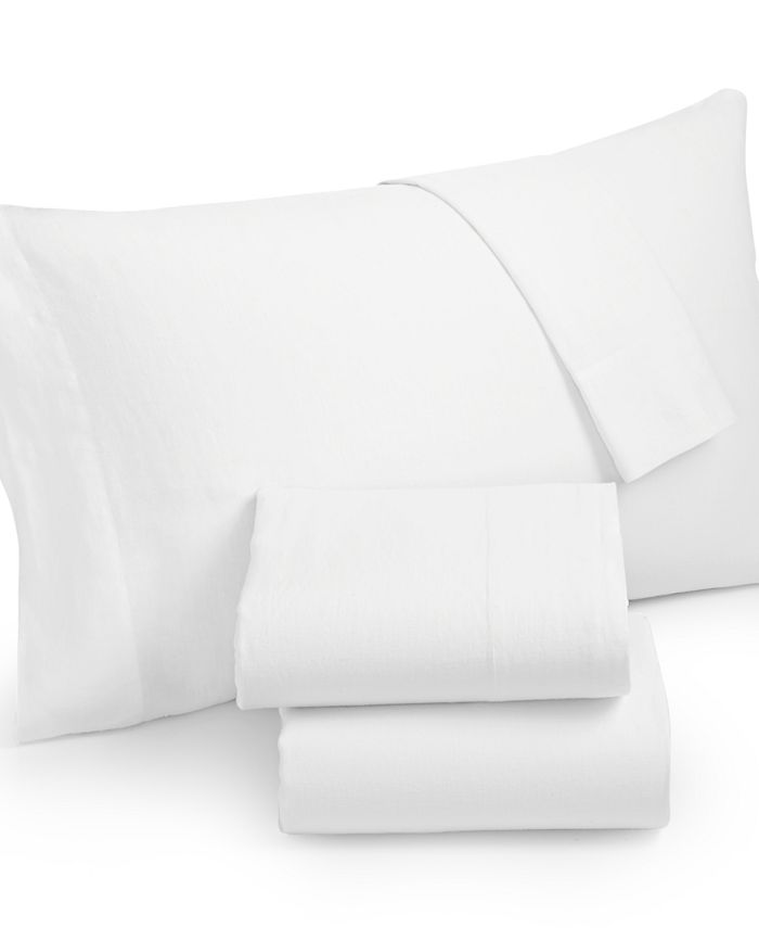 Hotel Collection - Linen White California King Fitted Sheet
