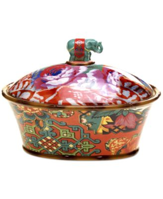 Tracy Porter Eden Ranch Figural Covered Bowl