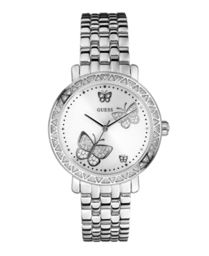 GUESS Watch, Women's Stainless Steel Bracelet 29mm G86013L