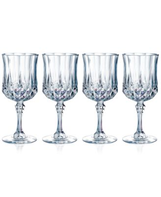Longchamp Diamax Wine Glasses (Set of 4)