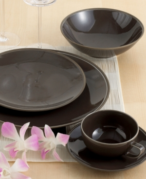 "Calvin Klein Home ""Tonal Edge"" 5-Piece Place Setting"