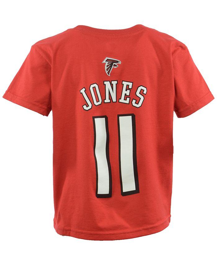 Outerstuff - Toddler Boys' Julio Jones Atlanta Falcons Mainliner Player T-Shirt
