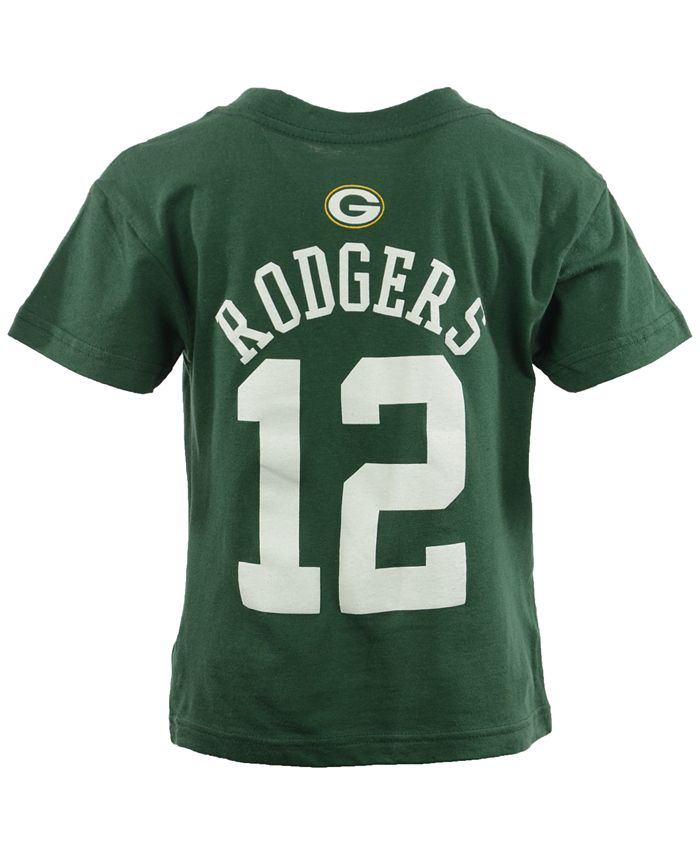 Outerstuff - Toddler Boys' Aaron Rodgers Green Bay Packers Mainliner Player T-Shirt