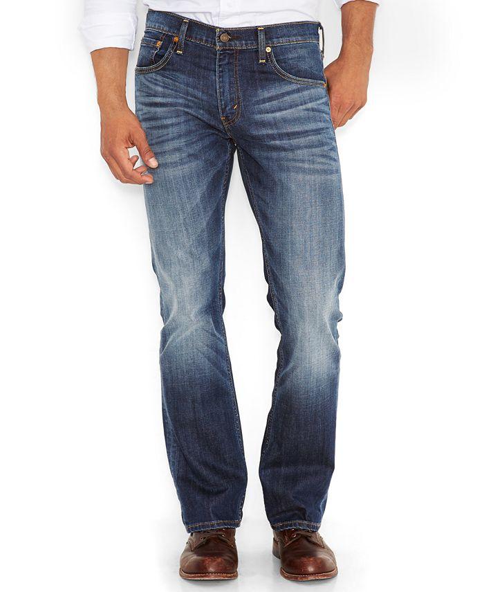 Levi S Men S 527 Slim Bootcut Fit Jeans Reviews Jeans Men Macy S
