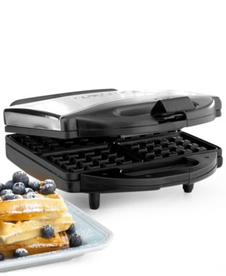 Krups 654-75 Waffle Maker, 4 Slice WaffleChef Belgian