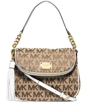 MICHAEL Michael Kors Jet Set Item Medium Tassel Convertible Shoulder