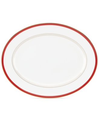 kate spade new york Jemma Street Oval Platter