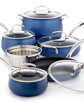 CLOSEOUT! Belgique Aluminum 11-Pc. Cookware Set