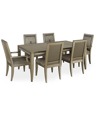 Ailey 7 Piece Dining Room Furniture Set Furniture Macy 39 S