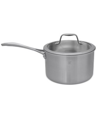 Zwilling J.A. Henckels Spirit Polished Stainless Steel 4 Qt. Covered Saucepan