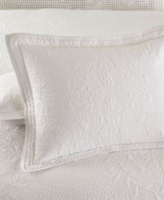 CLOSEOUT! Martha Stewart Collection Flower Crown Standard Sham