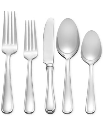 Vera Wang Wedgwood Cushion 45-Pc. Flatware Set, Service for 8