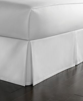 Martha Stewart Collection Cotton Pique King Bedskirt