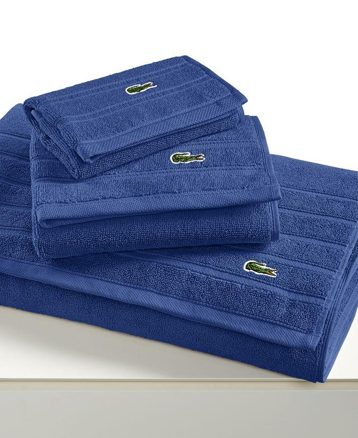 "Lacoste - Croc Solid 30"" x 54"" Bath Towel"