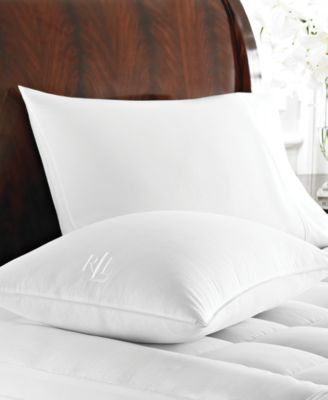 Lauren Ralph Lauren 500 Thread Count Dobby Stripe Goose Down Comforters ...