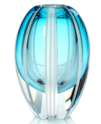 Evolution by Waterford Gifts, Aqua Haze Vase 7""