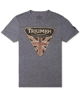 Lucky Brand Triumph Badge T Shirt T Shirts Men Macy 39 S