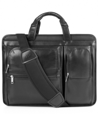McKlein Hubbard Expandable Double Compartment Laptop Case