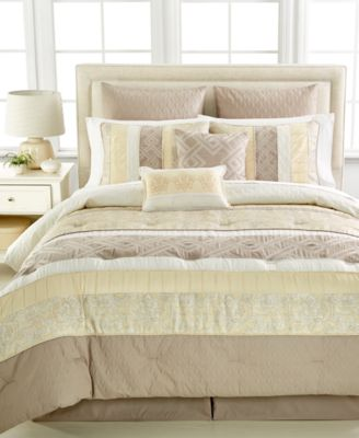 CLOSEOUT! Middleton 8-Pc. Queen Comforter Set