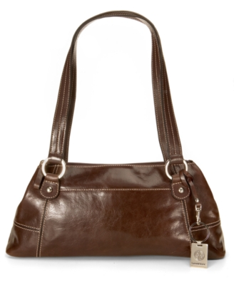 Leather Shoulder Bag - Giani Bernini