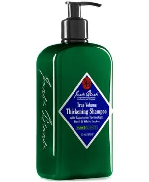 Jack Black True Volume Thickening Shampoo with Expansion Technology, Basil & White Lupine, 16 oz