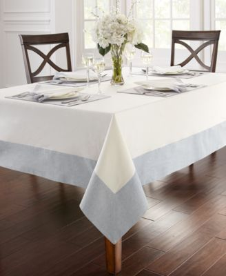 "Waterford Half and Half 70"" x 84"" Tablecloth"