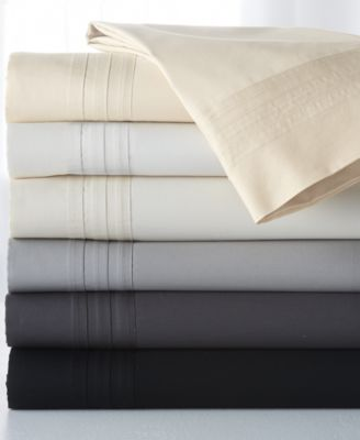 Donna Karan Home Silver King Flat Sheet
