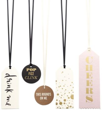 kate spade new york Assorted Wine Tag Set