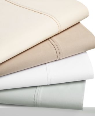 Brookstone AAFA Certified Cotton Sateen 500 Thread Count Wrinkle-Resistant Queen Sheet Set