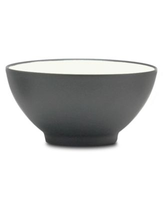 "Noritake ""Colorwave Graphite"" Rice Bowl, 6"""