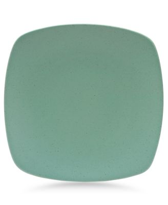 "Noritake ""Colorwave Green"" Medium Quad Plate, 10 3/4"""