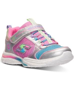 Skechers Little Girls' Game Kicks Running Sneakers from Fini