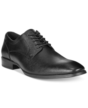 Alfani Men's Platinum Spence Textured Oxford, Only at Macy's Men's Shoes