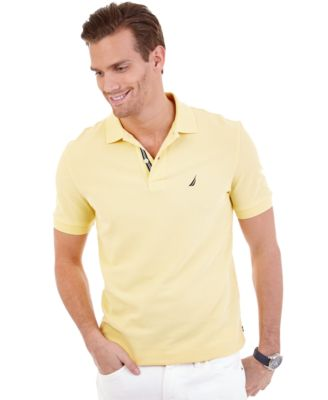 Image of Nautica Men's Short Sleeve Performance Deck Polo