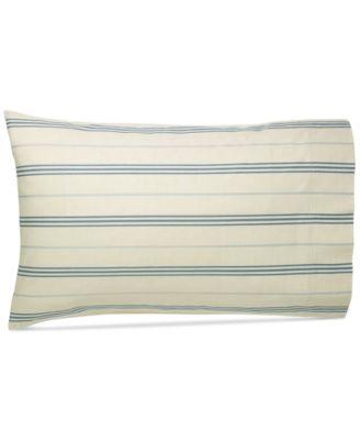 Ralph Lauren Isla Menorca Stripe Standard Pillowcase